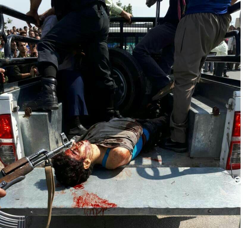 قاتل شهید فرامرزیان